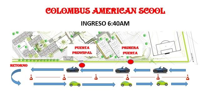 INGRESO COLOMBUS