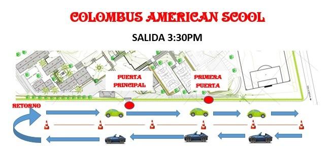 SALIDA COLOMBUS